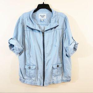 American Rag   Plus Size Short Sleeve Jacket